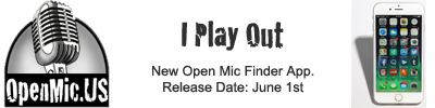 Open Mic Finder App by OpenMic.US